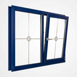 پنجره اول مورب بازشو (TILT FIRST) با قاب بازسازی