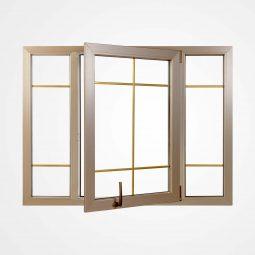 پنجره دو حالته آسان بازشو (Comfort)